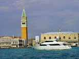 Luxurious Yacht in Venice