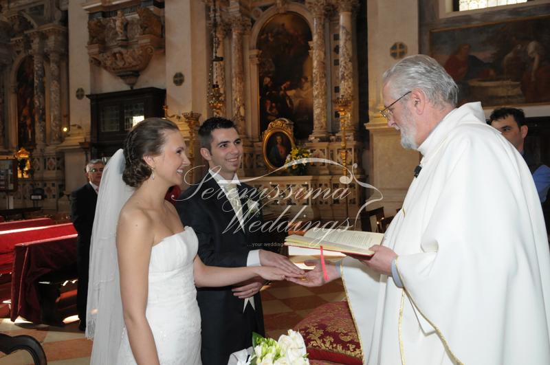 Mariage Religieux à Venise